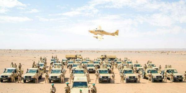 الجيش الموريتاني كشف عن تاريخ المناورات العسكرية لي غاتكون حدا المنطقة العازلة