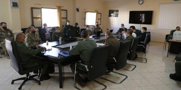 """التحضيرات لمناورات """"الأسد الإفريقي 2021"""" بدات باجتماع بين ضباط كبار مغاربة وأمريكيين"""