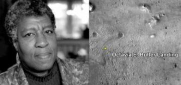 ناسا سمات موقع هبوط مسبارها بسمية مؤلفة الخيال العلمي أوكتافيا إي بالتر