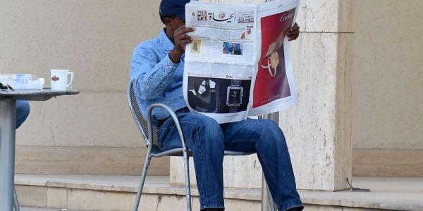 """إشاعات الوفيات : حين قرأ"""" المحجوب ايت غنو"""" التعزية في وفاته!"""