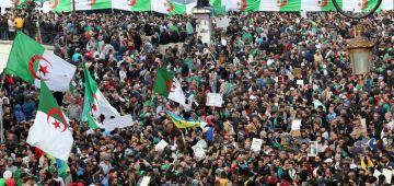 الدزايزيين فاخر مظاهرة: بغينا تغيير جذري للنظام