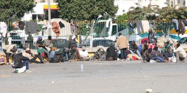 البوليس والمخازنية جراو على الافارقة من محطة ولاد زيان