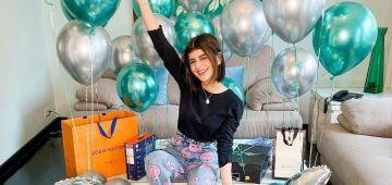فعيد ميلادها الـ24.. كوثر بامو دارت لوك جديد وتهلات فراسها بـ24 كادو – تصاور وفيديو