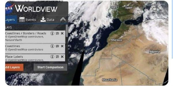 """القناعة بمغربية الصحرا كترسخ عالميا.. """"ناسا"""" اعتمدت خريطة المملكة بكامل صحرائها"""