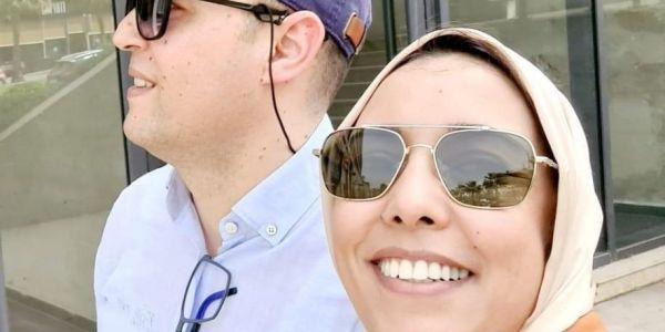 ها المهندس اللي تزوجات بيه القيادية ف البيجيدي أمينة ماء العينين – تدوينة و تصويرة