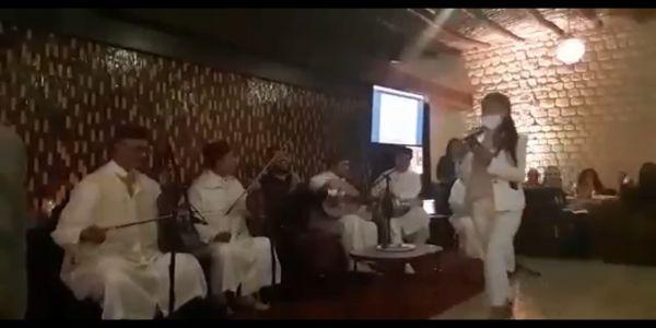 وفين التباعد واحترام الطورائ الصحية..وزارة بوشارب دارت حفل للوكالات الحضرية بحضور فرقة غنائية من فاس