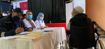 التغطية الطبية فـ الحباسات تحسنات ونسبة لمحابسية اللي استافدو من الطب العام وصل لـ86 فالمية وطب الأسنان 89 فالمية