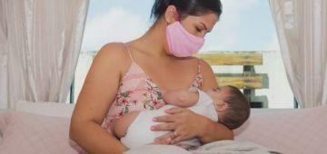 دراسة جديدة: حليب البزولة ماكيعديش الرضع بفيروس كورونا!.. وها التفاصيل
