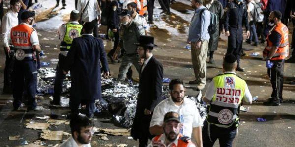 مقتل 44 واحد فحادث تدافع فاحتفال ديني فإسرائيل