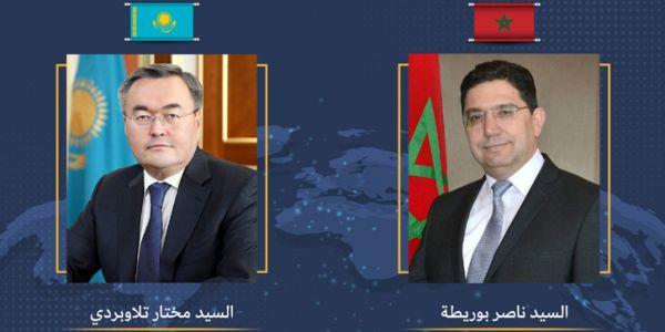 المغرب وكازاخستان كيرحبوا بفتح تمثيلية دبلوماسية وتعيين أول سفير كازاخستاني ف الرباط