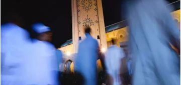 الاحتجاجات لصلاة التراويح وصلات لبلدة اساكن فالحسيمة – فيديو