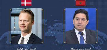 بوريطة هضر مع وزير الخارجية الدانماركي وملف الصحرا على راس الملفات اللي ناقشو