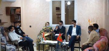 أعضاء الحزب المغربي الحر ف الصحرا: حنا مع العزل ديال إسحاق شارية واجتماعاتو ف المنطقة ماشي قانونية – وثائق