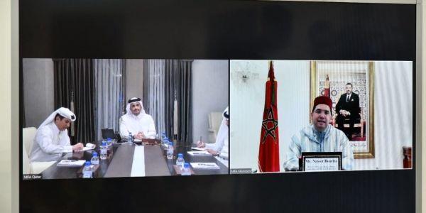 قطر ديما مع الوحدة الترابية للمملكة.. مباحثات بين بوريطة و وزير الخارجية القطري لتطوير العلاقات بين البلدين