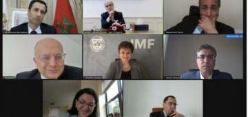 ف لقاء مع المديرة العامة لصندوق النقد الدولي.. بنشعبون هضر على التدابير اللي دارها المغرب لمواجهة جايحة كورونا