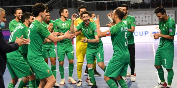المنتخب المغربي داز لأول مرة فـ تاريخو للدور الثاني من كاس العالم ديال الفوتصال