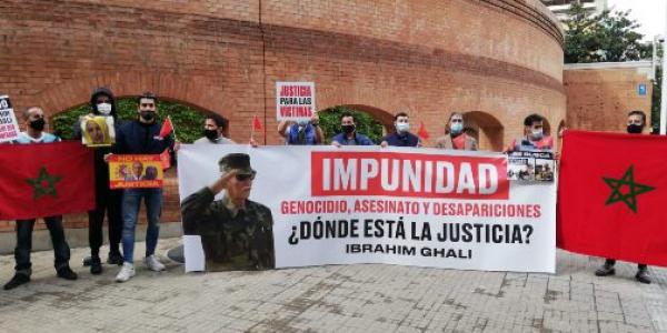 الفعاليات الجمعوية بمدينة خيرونا كتطالب باعتقال إبراهيم غالي زعيم البوليساريو ومحاكمتو على الجرائم اللي دار