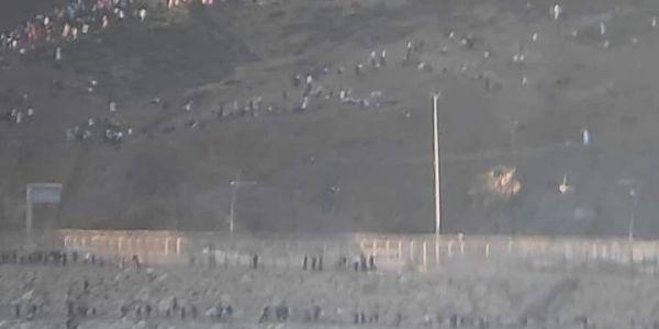 سبتة.. صبلونيين شبعو سبان فضباط مغاربة من القوات المساعدة وهاعلاش – فيديو