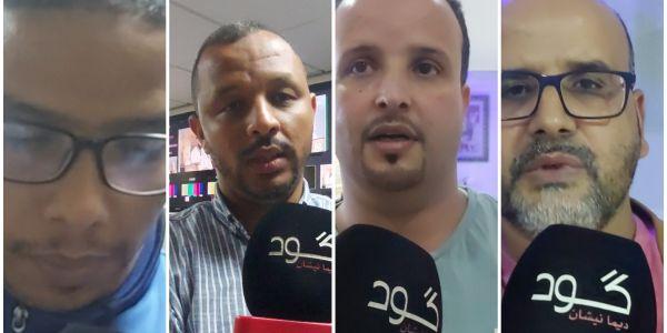 """من مقر قناة العيون.. """"كَود"""" عاشت اللحظات المؤثرة من بعد وفاة المدير محمد لغظف – فيديو"""