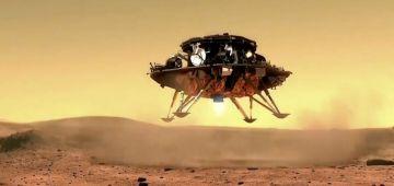 الشينوا نجحات فـ إنزال روبو فوق سطح المريخ – فيديو