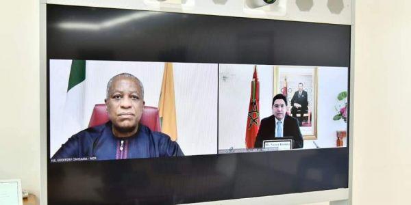 بوريطة هضر مع وزيري خارجية نيجيريا و جيبوتي وملف الصحرا حاضر ف البروكَرام