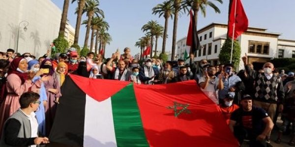 فلسطين والسياسة.. كيفاش الدولة سمحات لوقفات البي جي دي ومنعات بنعمرو والعدل والاحسان