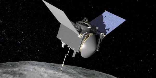 مركبة فضائية راجعة للأرض و جايبة شانتيو من كوكب صغير – فيديو