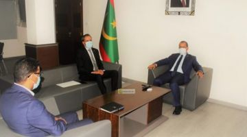 التقارب المغربي الموريتاني.. سفير المملكة تلاقى وزير النقل الموريتاني ف نواكشوط