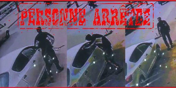 البوليس شدو الشخص اللي بان ف فيديو كيشفر من وسط طوموبيل ف فاس