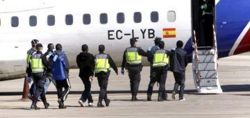 وزارة الداخلية الاسبانية كشفات على عدد الحراگة اللي ترحلو فظرف 4 شهور