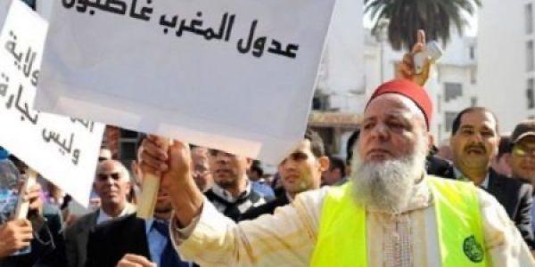 العدول كاعيين.. صعدو ضد الوزارة ودايرين احتجاج