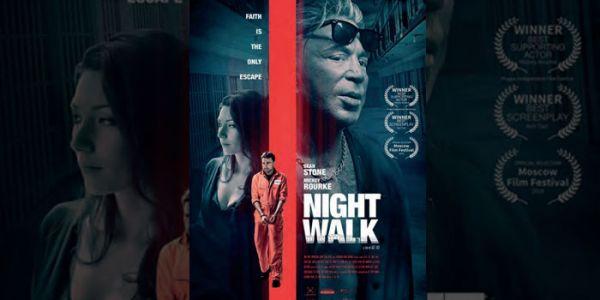 """فيلم """"Night Walk"""" ديال المخرج المغربي عزيز التازي محيح عالميا.. مثل فيه الممثل الكبير ميكي رورك وتصور بين المغرب ولوس انجليس"""
