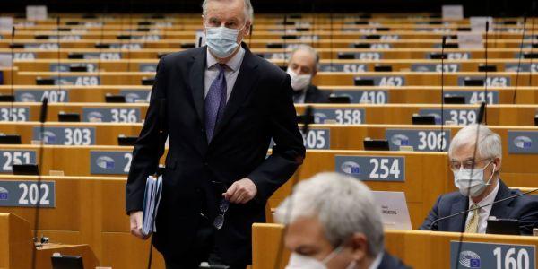 """البرلمانيون الأوروبيين مجمعين ف النقاش  على 'إدانة ابتزاز """" المغرب بملف هجرة القاصرين لسبتة المحتلة"""