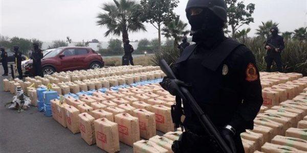 """""""لابيجي"""" فـ الحسيمة طيحات ريزو للتهريب الدولي للمخدرات وحجزات اكثر من طن ديال الحشيش"""