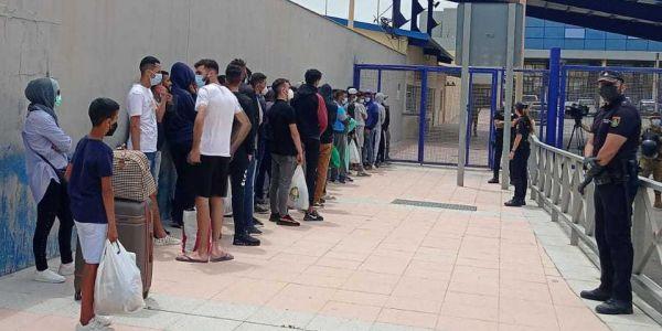 جورنالات صبليونية: المغرب كيرفض عودة الحراگة اللي بقاو فـ سبتة المحتلة واخا كتسناهم قرارات الطرد