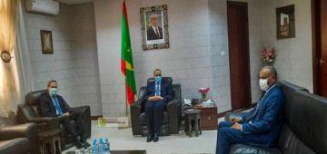 العلاقات معاهم غادية مزيان.. وزير الخارجية الموريتاني استقبل سفير المغرب ف نواكشوط