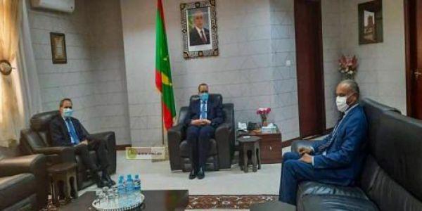 العلاقات غادية مزيان.. وزير الخارجية الموريتاني استقبل سفير المغرب فـ نواكشوط