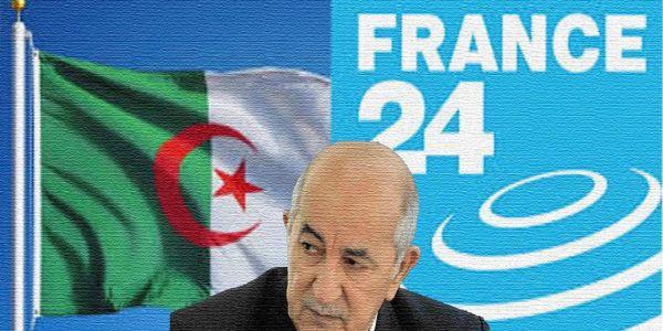 مهزلة الانتخابات ف الدزاير دفعات نظام العسكر لطرد قناة فرانس 24