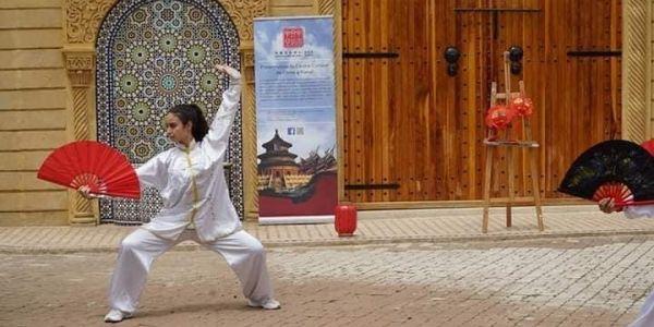 """""""طريق الفن"""".. احتفاء بالثقافة الصينية بكلية سلا – تصاور"""