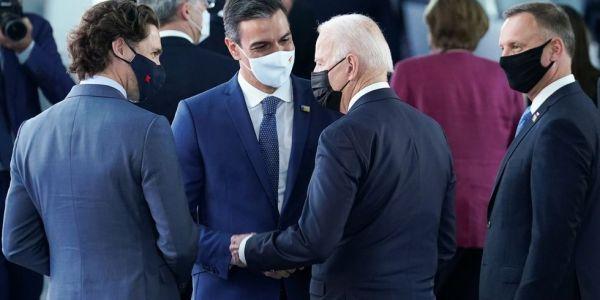 ها للي كَلنا.. وزيرة خارجية الصبليون: سانشيز وبايدن ماجبدوش ملف الصحرا فـ قمة الناتو – فيديو