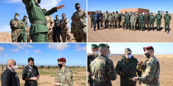 """تحضيرات مكثفة فالمغرب استعدادا لبدء مناورات """"الأسد الإفريقي"""""""