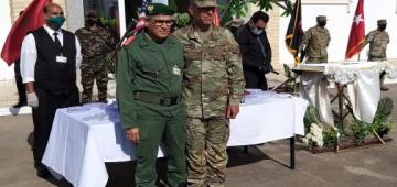 الأسد الأفريقي 2021.. القوات البرية المريكانية محتافلة بذكرى تأسيسها بالمغرب
