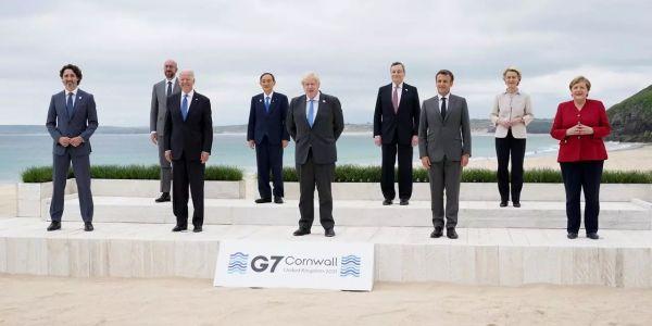 جونسون فرحان بإعلان G7 لمواجهة الجايحات: هادي لحظة تاريخية – تغريدة