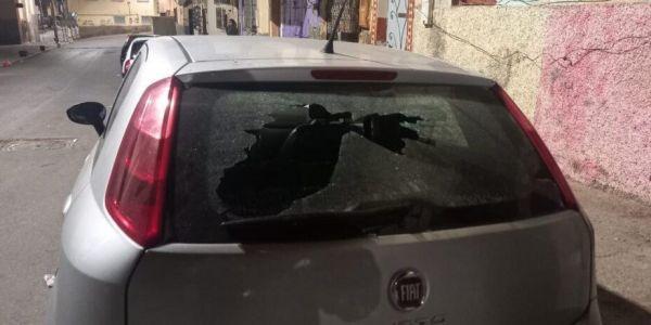 اش هاد السيبة واقعة فسطات مجهولين هرسو الحاج ديال 5 ديال الطونوبيلات والامن فتح تحقيق
