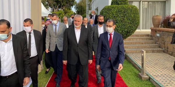 هادي زادت من التفرقة بين الإخوة الأعداء.. وفد حماس مشا عند الرميد ومامشاش عند بنكيران