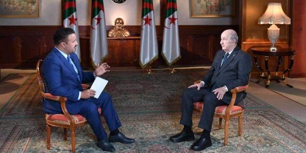 """الرئيس الدزايري """"تبون"""" ف خرجة جديدة: دعمنا للبوليساريو ثابت وماغاديش يتغير"""