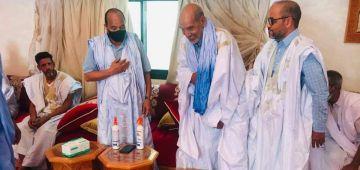 وفد من البوليساريو تلاقى الرئيس الموريتاني السابق ف نواكشوط وها علاش