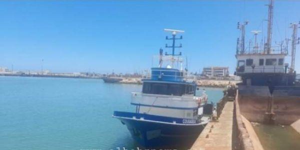 البحرية الملكية وقفات باركو بوليڤي دخل للمياه المغربية بسواحل العيون – تصاور