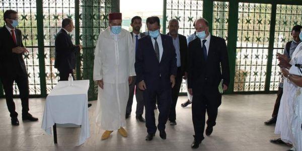 من بعد مدة ديال الإصلاح.. سفير المملكة افتاتح المركز الثقافي المغربي فـ نواكشوط