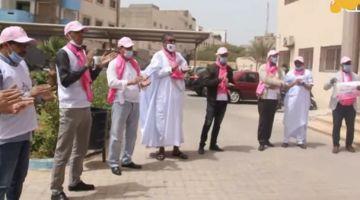 وقفة احتجاجية لنقابة حزب الإستقلال فـ الداخلة تحولات لدعاية انتخابية قبل الوقت